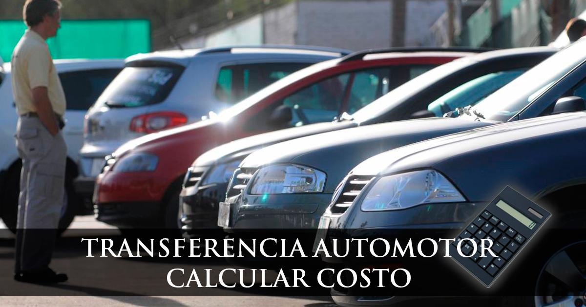 Transferencia automotor costo 2018 valor capital federal y for Espaillat motors vehiculos usados